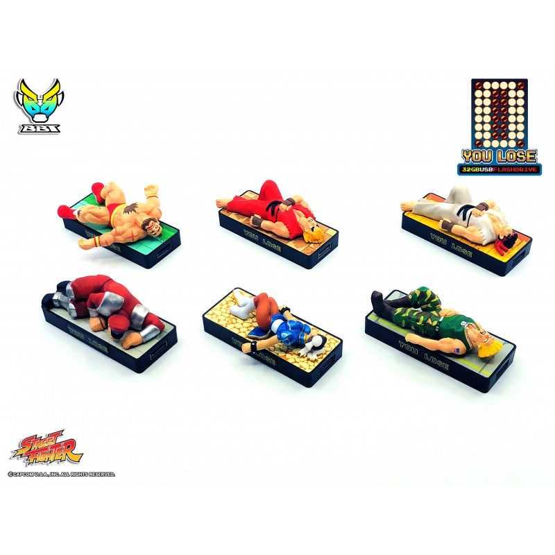 "Bigboystoys - Street Fighter - ""You Lose"" 32GB USB Flash Drive - Ken"