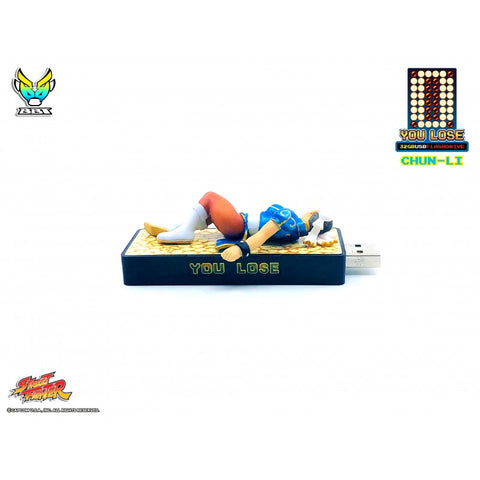 "Bigboystoys - Street Fighter - ""You Lose"" 32GB USB Flash Drive - Chun-Li"