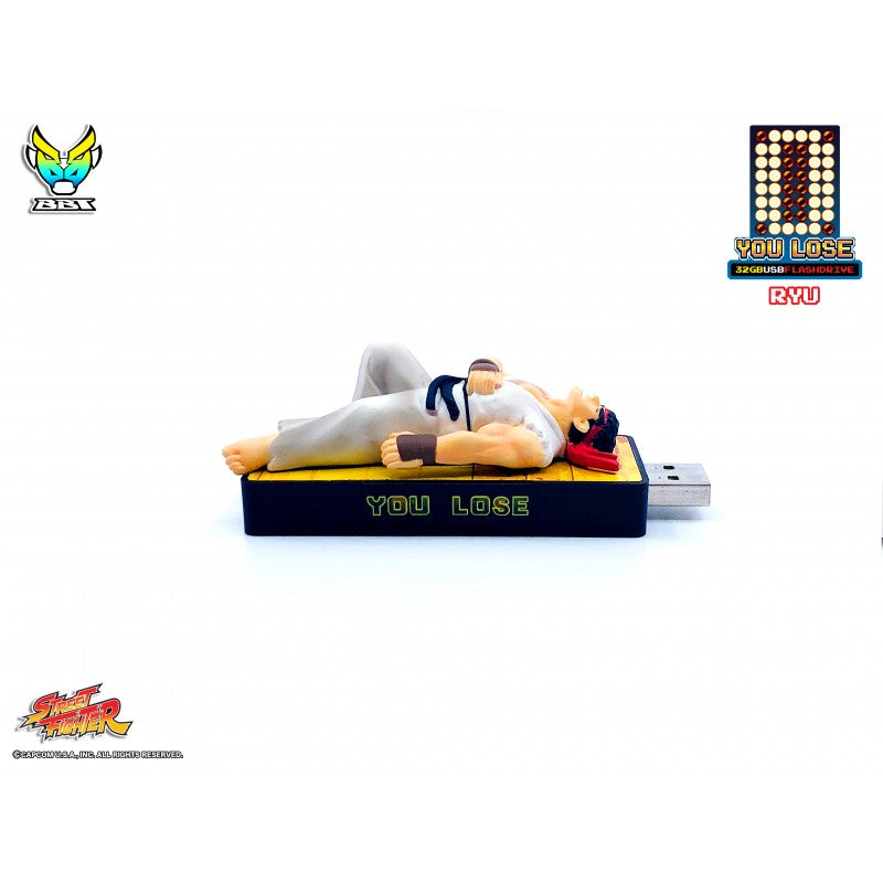 "Bigboystoys - Street Fighter - ""You Lose"" 32GB USB Flash Drive - Ryu"