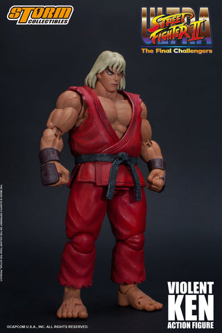 Storm Collectibles - Ultra Street Fighter II: The Final Challengers - Violent Ken (Brainwashed Ken)