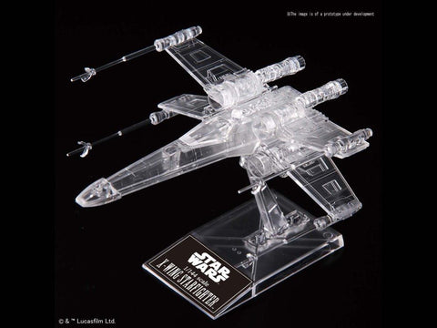 Bandai - Star Wars: Return of the Jedi - Clear Vehicle Model Set (Death Star II, X-Wing, Y-Wing, Millennium Falcon)