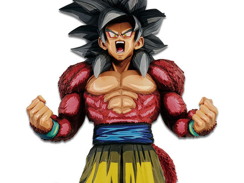 Banpresto - Dragon Ball GT - Super Master Stars Piece - Super Saiyan 4 Son Goku (Manga Dimensions)