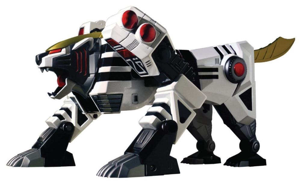 Bandai America - Mighty Morphin Power Rangers - Legacy Tigerzord (Reissue)