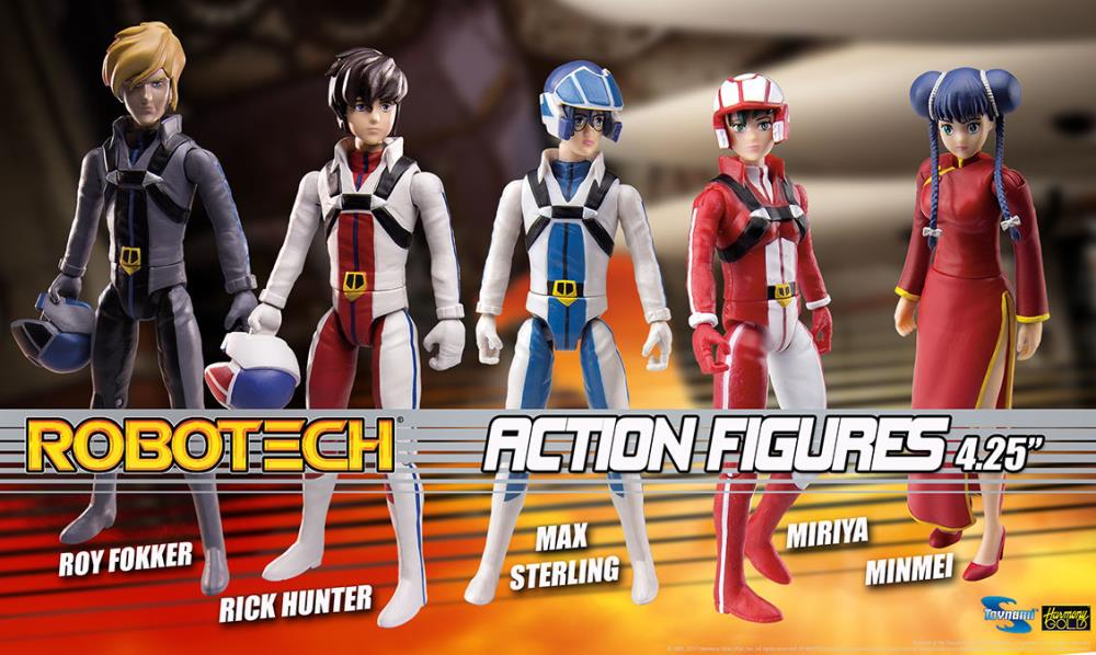 Toynami Robotech - Retro-Style Action Figure (Set of 5)