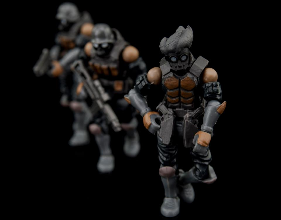Ori Toy - Acid Rain - B2Five Wave 3A - Bucks Team Trooper Set
