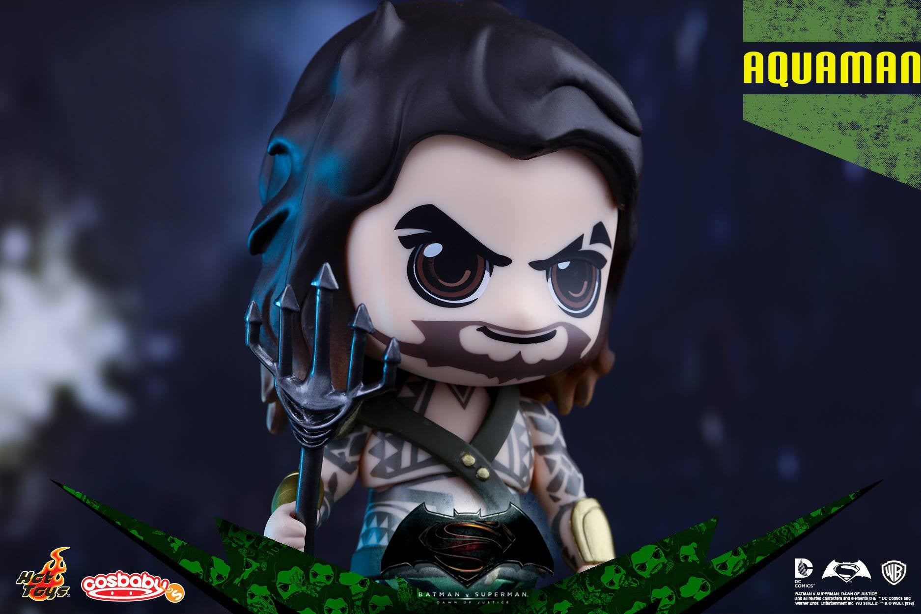 Aquaman Cosbaby Collectible COSB227 - Batman v Superman: Dawn Of Justice - Hot Toys - Marvelous Toys - 2