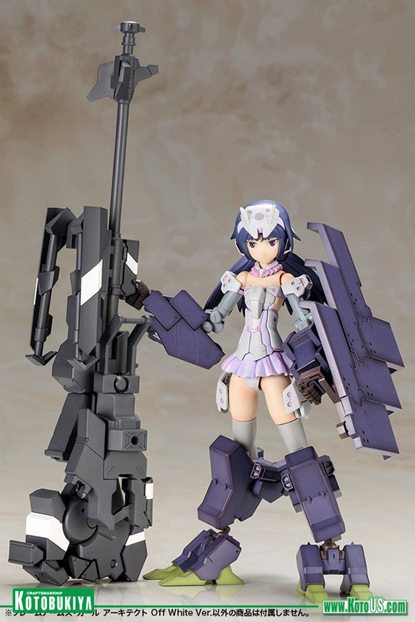 Kotobukiya - Frame Arms Girl - Architect (Off White Version) Model Kit