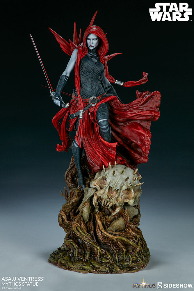 Sideshow Collectibles - Mythos Statue - Star Wars - Asajj Ventress