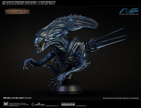 Sideshow Collectibles - Alien vs. Predator - Alien Queen 1:3 Bust Maquette by CoolProps