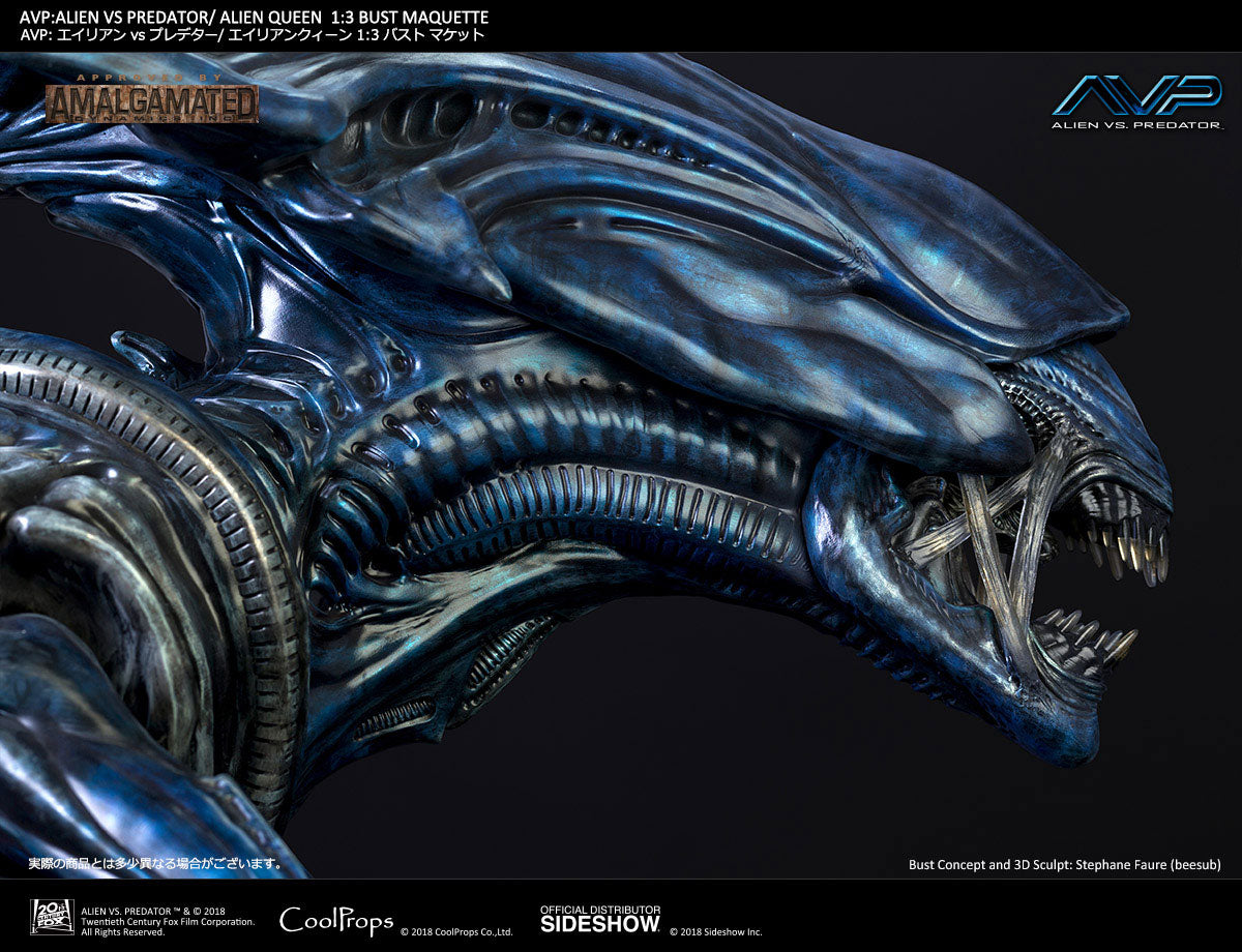 Sideshow Collectibles - Alien vs. Predator - Alien Queen 1:3 Bust Maquette (Deluxe Version) by CoolProps