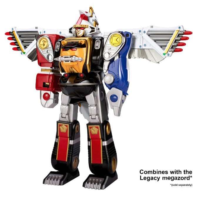 Bandai America - Mighty Morphin Power Rangers - Legacy Falconzord (Reissue)