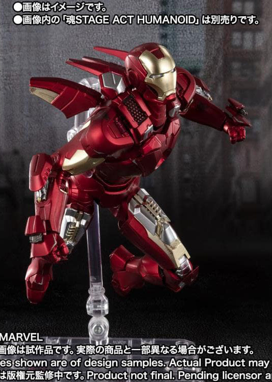 S.H.Figuarts - The Avengers - Iron Man Mark 7 (Avengers Assemble Edition) (TamashiiWeb Exclusive)