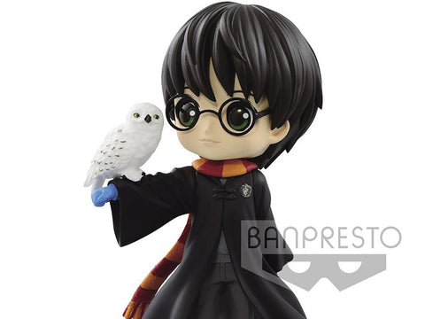 Banpresto - Q Posket - Harry Potter - Harry Potter with Hedwig (Normal Colour)