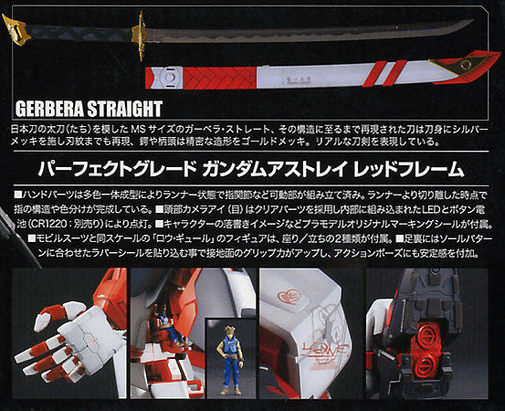 Bandai - Mobile Suit Gundam Seed Astray 1/60 PG - Gundam Astray Red Frame Model Kit