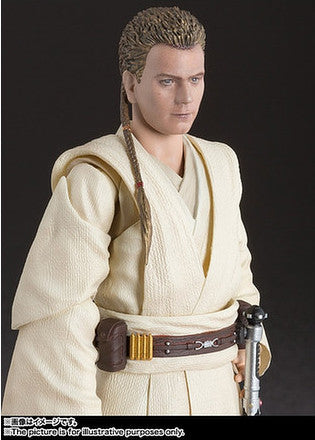 (IN STOCK) S.H.Figuarts - Obi-Wan Kenobi - The Phantom Menace - Marvelous Toys - 3