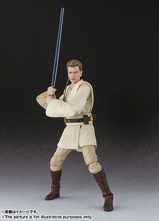 (IN STOCK) S.H.Figuarts - Obi-Wan Kenobi - The Phantom Menace - Marvelous Toys - 5