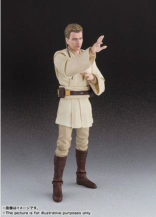 (IN STOCK) S.H.Figuarts - Obi-Wan Kenobi - The Phantom Menace - Marvelous Toys - 6