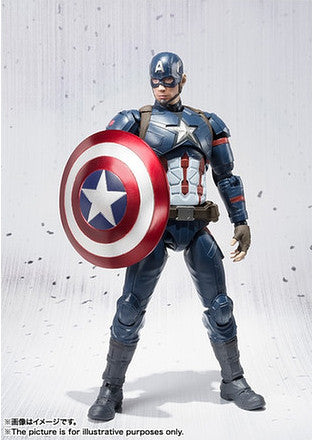 (IN STOCK) S.H. Figuarts - Captain America Civil War - Captain America & Iron Man Mark 46 Special Box Set ToysRUs Japan Exclusive - Marvelous Toys - 6