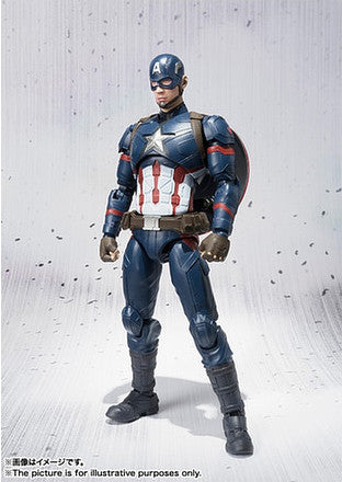 (IN STOCK) S.H. Figuarts - Captain America Civil War - Captain America & Iron Man Mark 46 Special Box Set ToysRUs Japan Exclusive - Marvelous Toys - 7