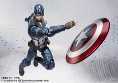 (IN STOCK) S.H. Figuarts - Captain America Civil War - Captain America & Iron Man Mark 46 Special Box Set ToysRUs Japan Exclusive - Marvelous Toys - 11