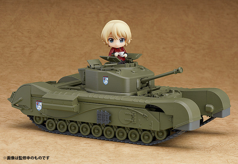 Nendoroid More - Girls und Panzer das Finale - Churchill Mk. VII