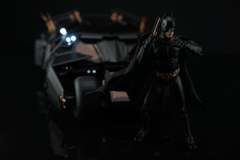 Soap Studio - The Dark Knight Trilogy - Remote Controlled Tumbler Batmobile (Deluxe Pack) (1/12 Scale) (Reissue)