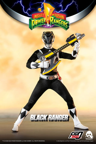 Threezero - Mighty Morphin Power Rangers - Black Ranger (1/6 Scale)