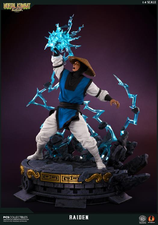 Pop Culture Shock - Legacy Kollection - Raiden (1:4 Scale Statue) (Retail Version)
