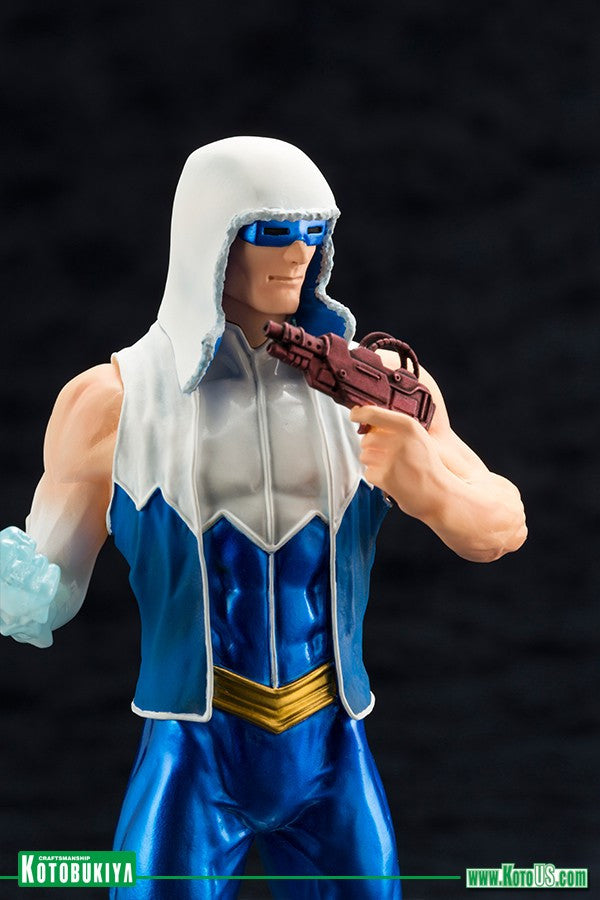Kotobukiya - ARTFX+ - DC New 52 Captain Cold Statue (1/10 Scale) - Marvelous Toys - 5