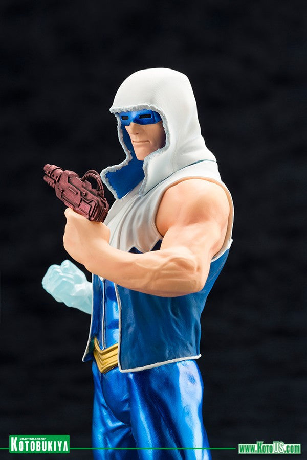 Kotobukiya - ARTFX+ - DC New 52 Captain Cold Statue (1/10 Scale) - Marvelous Toys - 6