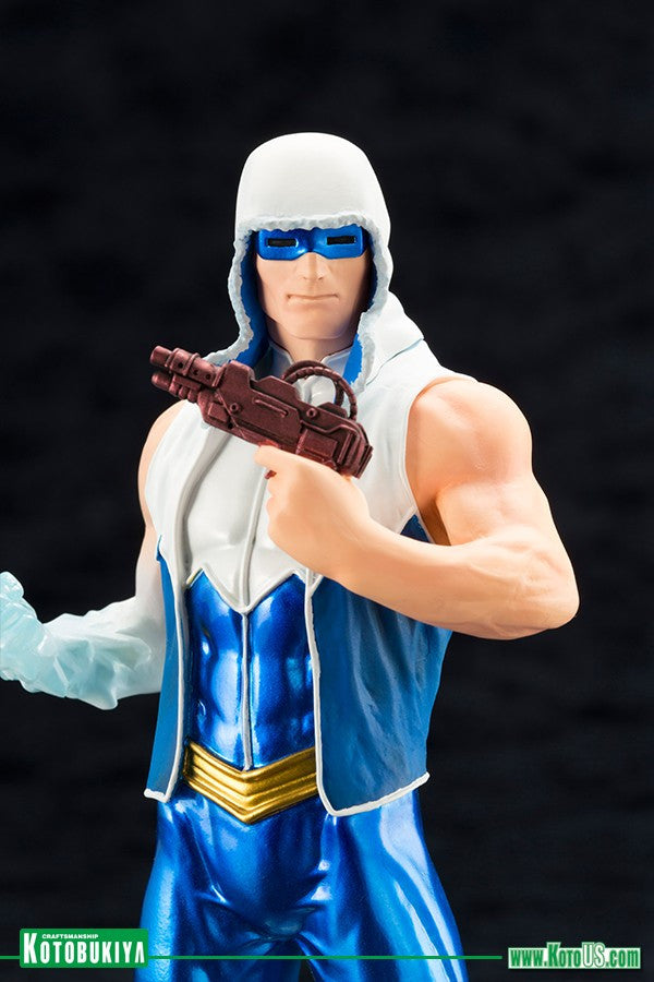 Kotobukiya - ARTFX+ - DC New 52 Captain Cold Statue (1/10 Scale) - Marvelous Toys - 7