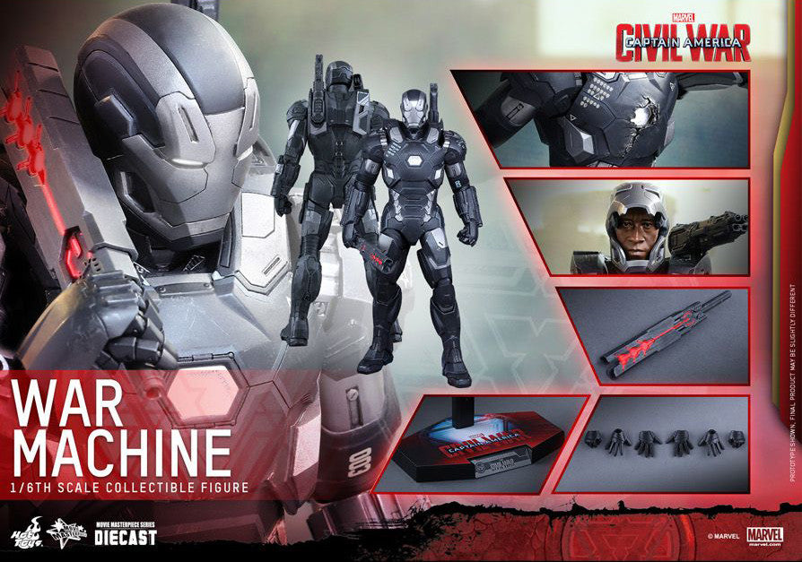 Hot Toys - Captain America: Civil War - War Machine Mark III MMS344D15 - Marvelous Toys - 2