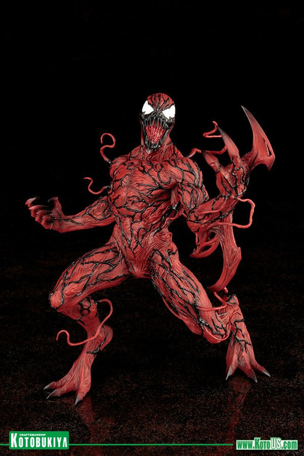 USA Carnage ARTFX Spiderman Kotobukiya HOT 1//10 Scale Action Figure Marvel Now