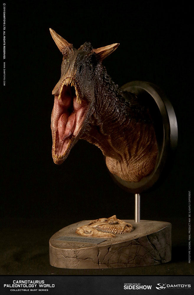 Dam Toys - Collectible Museum Series - Paleontology World - Carnotaurus Bust (Brown MUS005B)