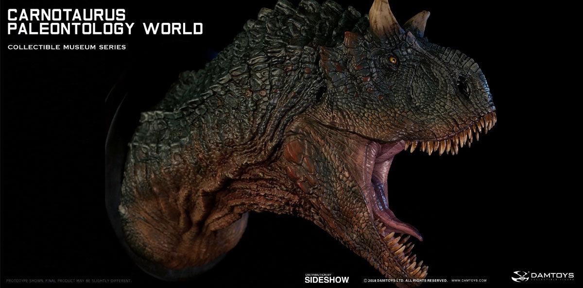 Dam Toys - Collectible Museum Series - Paleontology World - Carnotaurus Bust (Green MUS005A)