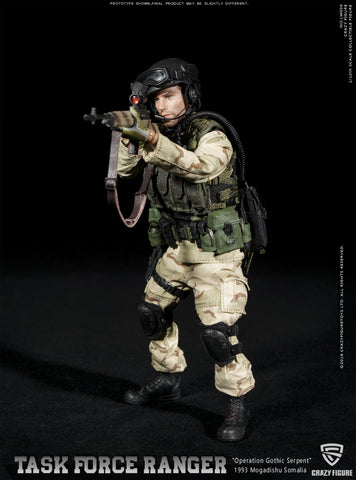 Crazy Figure - LW006 - Operation Gothic Serpent 1993 Mogadishu - Task Force Ranger - US Delta Special Force M14 Sniper (1/12 Scale)