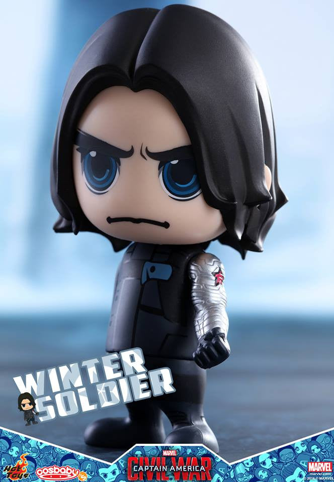 Hot Toys - COSB247 - Captain America: Civil War -  Winter Soldier Cosbaby Bobble-Head - Marvelous Toys - 1
