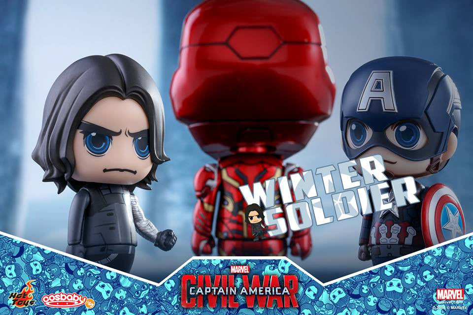 Hot Toys - COSB256 - Captain America: Civil War - Team Captain America Cosbaby Bobble-Head Collectible Set Of 6 - Marvelous Toys - 9