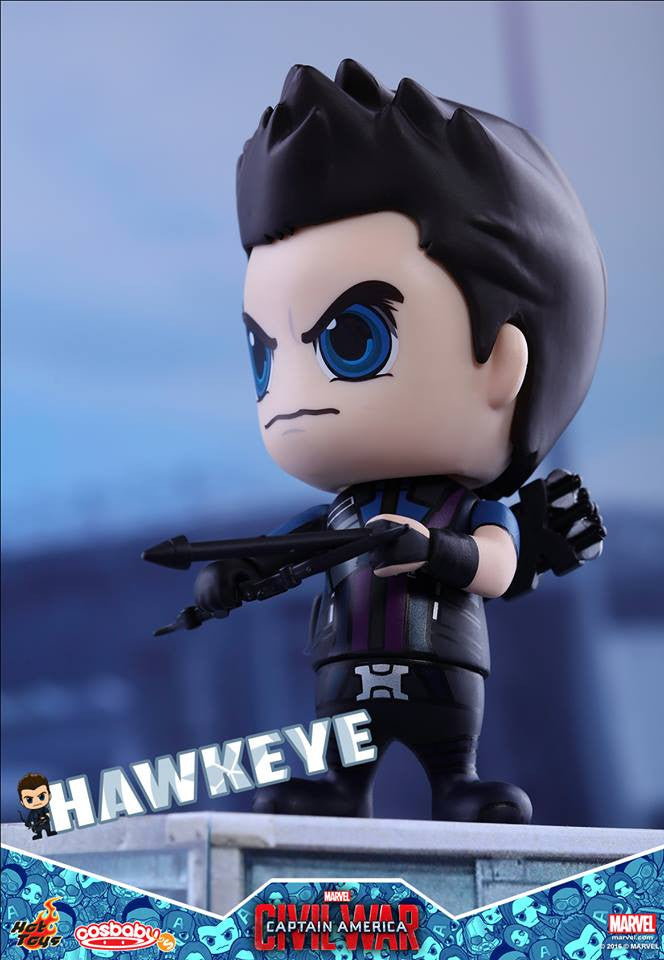 Hot Toys - COSB250 - Captain America: Civil War -  Hawkeye Cosbaby Bobble-Head - Marvelous Toys - 2