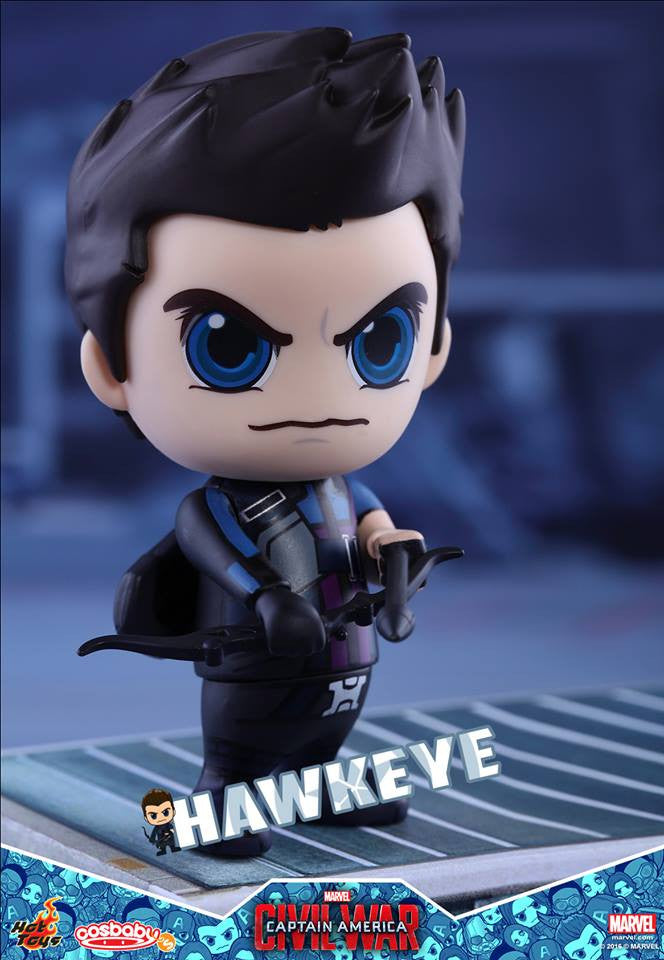 Hot Toys - COSB250 - Captain America: Civil War -  Hawkeye Cosbaby Bobble-Head - Marvelous Toys - 1