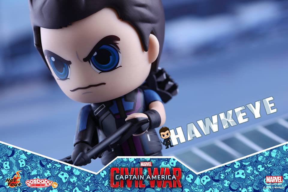 Hot Toys - COSB250 - Captain America: Civil War -  Hawkeye Cosbaby Bobble-Head - Marvelous Toys - 3