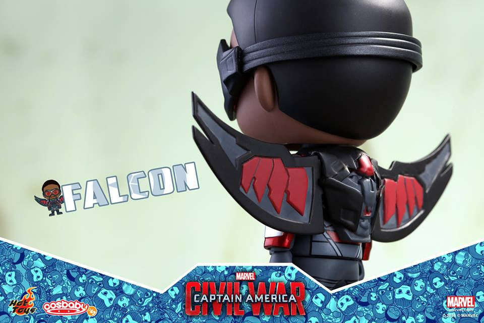 (IN STOCK) Hot Toys - COSB248 - Captain America: Civil War -  Falcon Cosbaby Bobble-Head - Marvelous Toys - 2