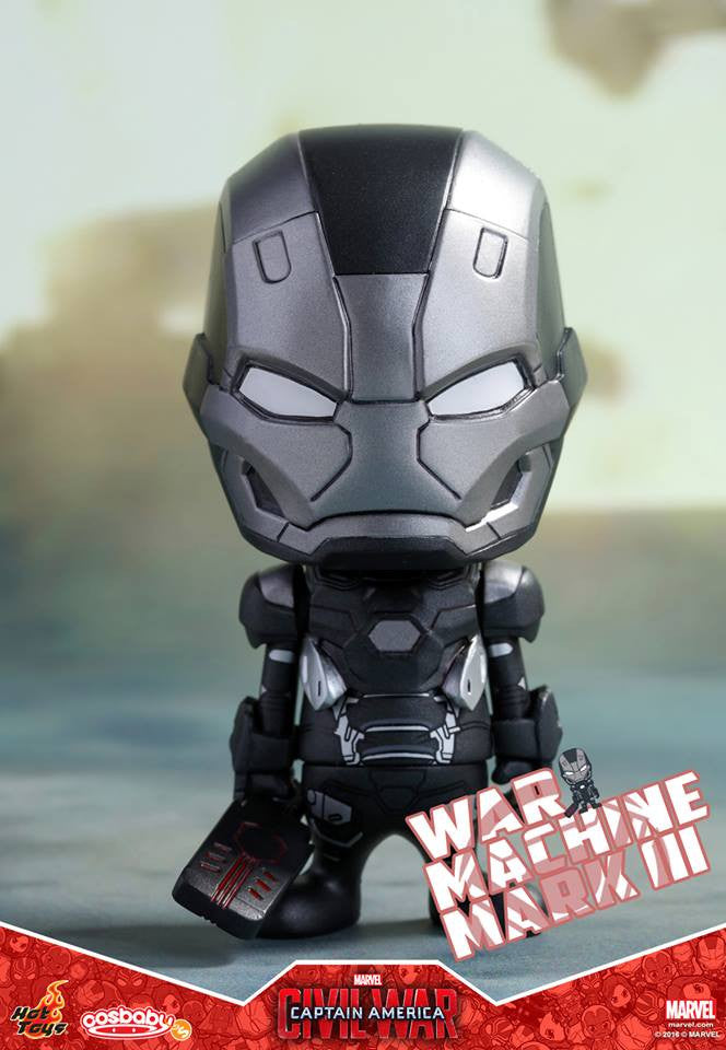 Hot Toys - COSB252 - Captain America: Civil War -  War Machine Mark III Cosbaby Bobble-Head - Marvelous Toys - 2