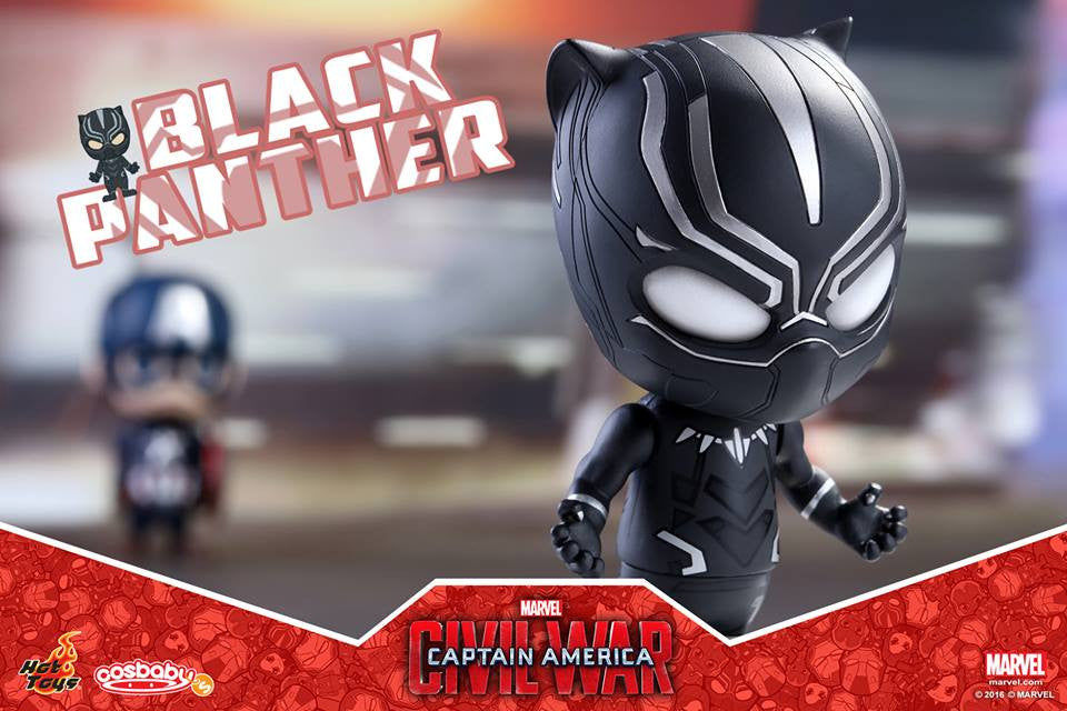 Hot Toys - COSB253 - Captain America: Civil War -  Black Panther Cosbaby Bobble-Head - Marvelous Toys - 2