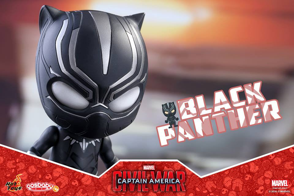 Hot Toys - COSB253 - Captain America: Civil War -  Black Panther Cosbaby Bobble-Head - Marvelous Toys - 3