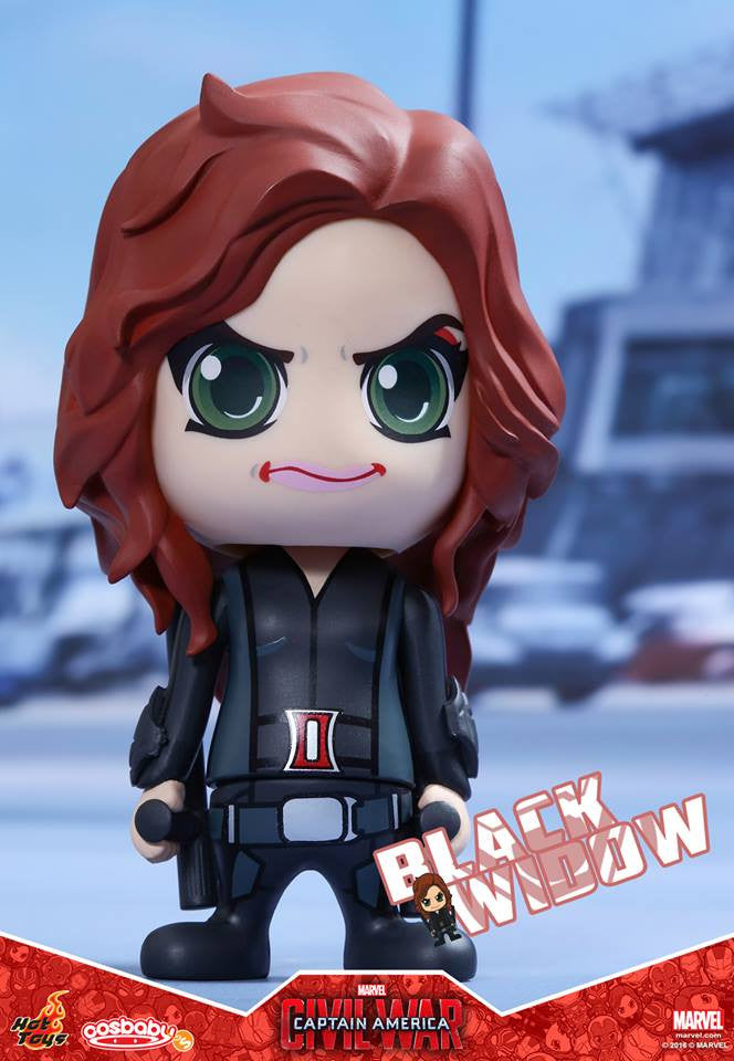 (IN STOCK) Hot Toys - COSB254 - Captain America: Civil War -  Black Widow Cosbaby Bobble-Head - Marvelous Toys - 1