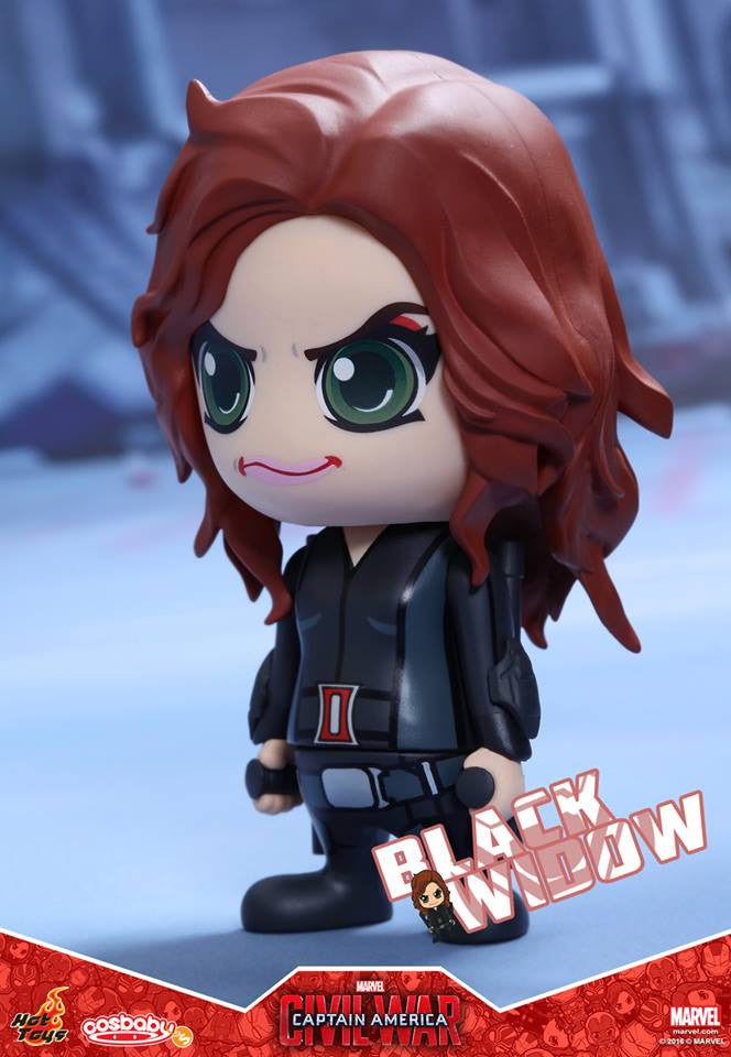 (IN STOCK) Hot Toys - COSB254 - Captain America: Civil War -  Black Widow Cosbaby Bobble-Head - Marvelous Toys - 2