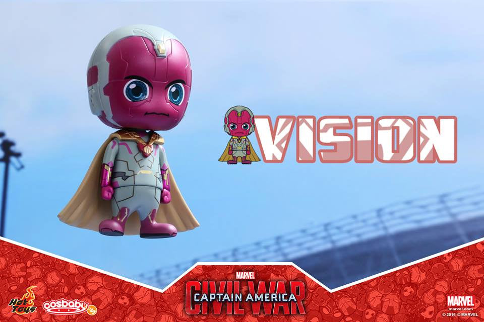 Hot Toys - COSB255 - Captain America: Civil War -  Vision Cosbaby Bobble-Head - Marvelous Toys - 2