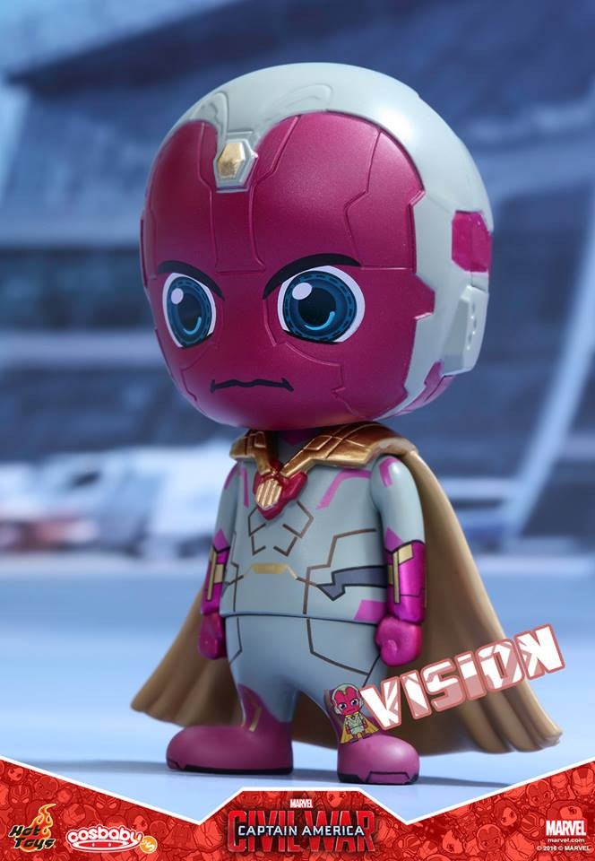 Hot Toys - COSB255 - Captain America: Civil War -  Vision Cosbaby Bobble-Head - Marvelous Toys - 1