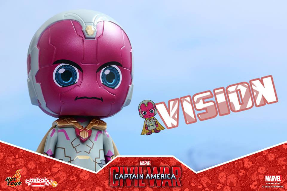 Hot Toys - COSB255 - Captain America: Civil War -  Vision Cosbaby Bobble-Head - Marvelous Toys - 3